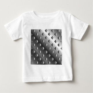 metal grid background baby T-Shirt