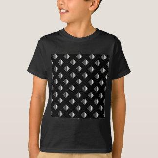metal grid background t-shirt