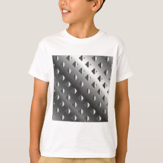 metal grid background t shirts
