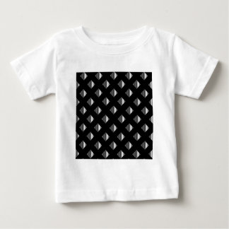 metal grid background tee shirt