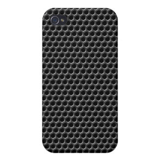 Metal grid pattern - background cover for iPhone 4