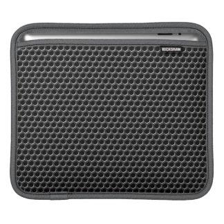 Metal grid pattern - background iPad sleeve
