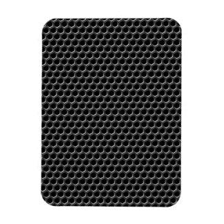Metal grid pattern - background vinyl magnets