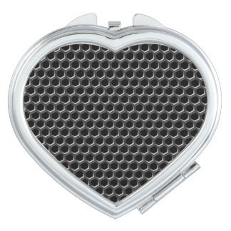 Metal grid pattern - background vanity mirrors