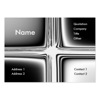 Metal Groovy Business Card Template