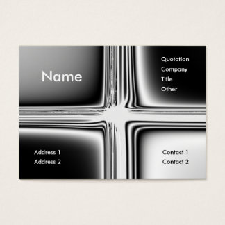 Metal Groovy Business Card