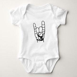 Metal hand - Devil of finger Baby Bodysuit