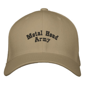 Metal Head Army Embroidered Cap