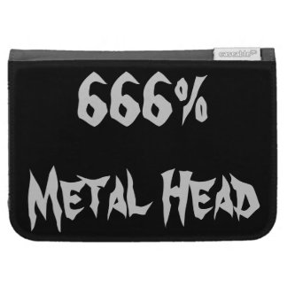 Metal Head Kindle Cover