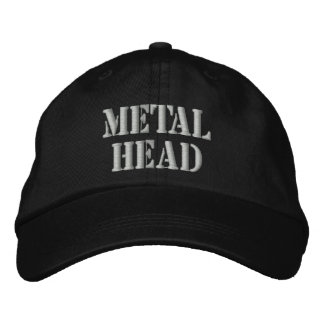 METAL HEAD EMBROIDERED BASEBALL CAP