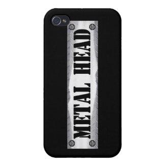 Metal Head iPhone 4/4S Covers