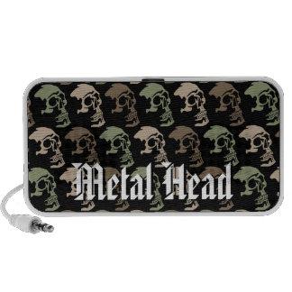 Metal Head Mini Speakers