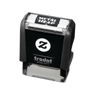 Metal Head Music Self-inking Stamp
