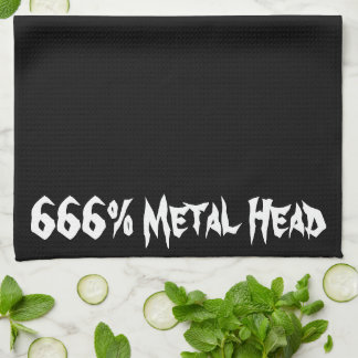 Metal Head Towels