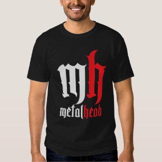 Metal Head with Edge! T-shirts