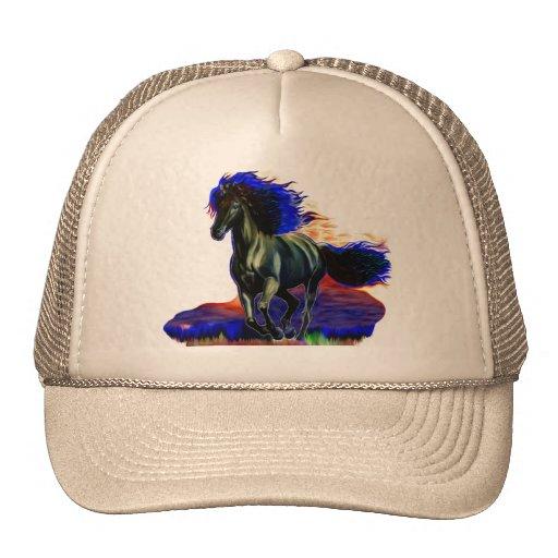 Metal Horse Hats