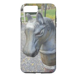 Metal Horse Parking Pole iPhone 7 Plus Case
