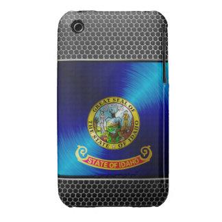 Metal Idaho Flag iPhone 3 Cases