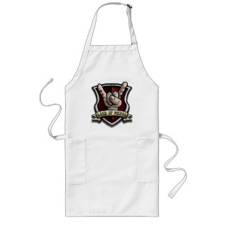 Metal Logo Long Apron