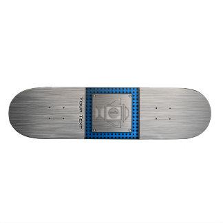 Metal-look 1st Place Trophy Skate Deck