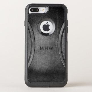 Metal Look custom monogram phone cases