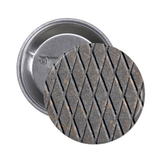 Metal Manhole Tap 6 Cm Round Badge
