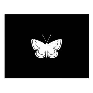 Metal Mark Butterfly Postcard