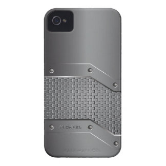 Metal Metallic Style Blackberry Bold  Case iPhone 4 Case-Mate Case