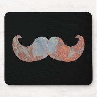 Metal Mustache Mouse Pad