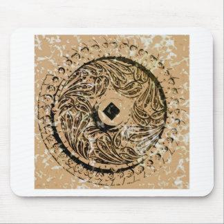 Metal Pattern Mouse Pad
