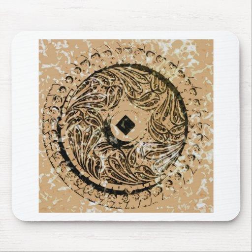 Metal Pattern Mousepads