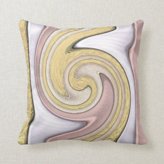 Metal pattern with shine, art cushion