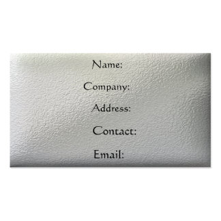 Metal - pitted business card templates