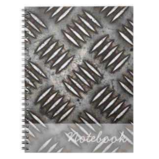 Metal Plate Notebook