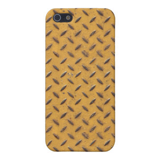 Metal Plate Yellow 01 iPhone 5 Cover