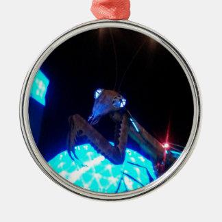 metal praying mantis - 1.jpg christmas ornament