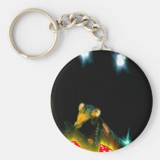 Metal Praying Mantis - 2.jpg Basic Round Button Key Ring