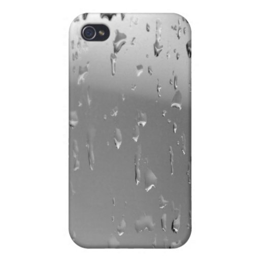 Metal Rain Case iPhone 4/4S Covers