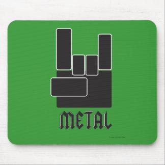 Metal Rocks Mouse Pads
