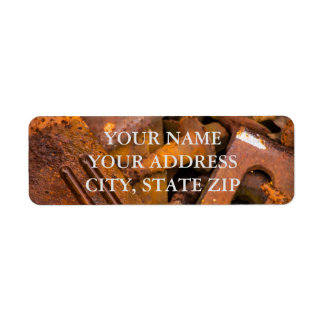METAL RULES ADDRESS LABEL TEMPLATE