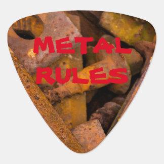 METAL RULES GUITAR PICK