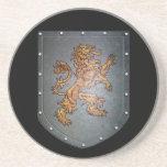 Metal Shield Lion