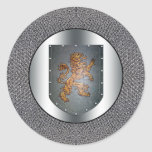 Metal Shield Lion Chainmail