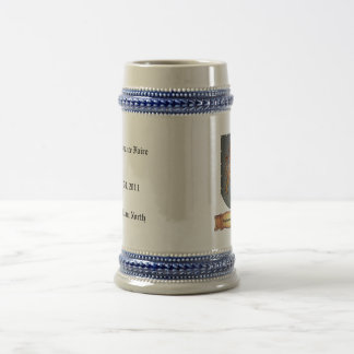 Metal Shield Lion Latin Coffee Mug