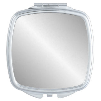 Metal Silver Look Compact Mirrors