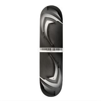 Metal Skateboard Deck
