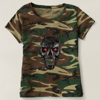 Metal Skull of Medusa T-Shirt