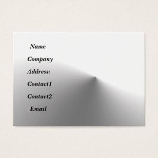 metal sleek business card