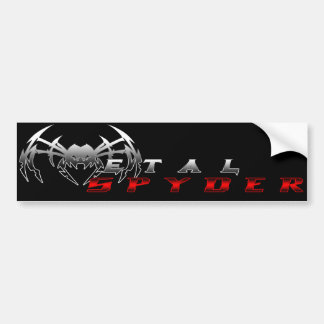 """Metal Spyder Entertaintment"" Bumper Sticker"