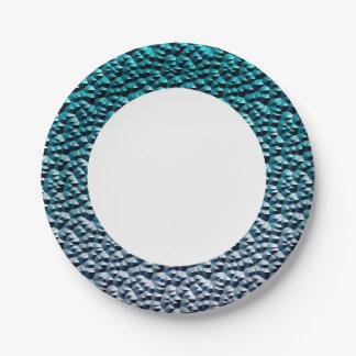 Metal Squares 3 Paper Plate